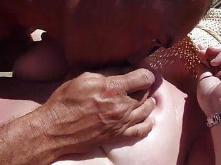 maspalomas part 4 of 5 strangers & my cock on tittys