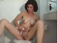 Gila gives JOI in Hebrew while shaving her pussy's Thumb