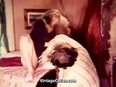 Hardcore Close-up Threesome gets Wild (1970s Vintage)