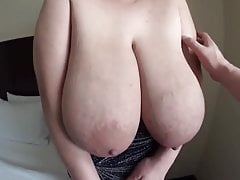 Ruriko S Cup - Big Saggy Huge Tits with Milk 's Thumb