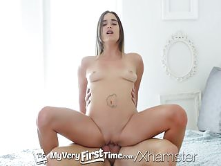 MY VERY FIRST TIME Newcomer Pamela Morrison first time fuck