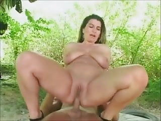 hot milf anal outdoors