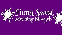 Sexy Indian Fiona Sweet Loves Morning BlowJob