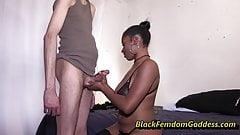 Kay Kush more standing handjob teasing's Thumb