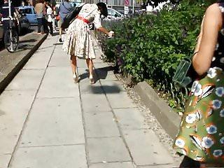 Fashionista in Sexy Casadei High-heels