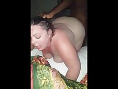White.Chubby Milf Gets Pounded By BBC In A Motel