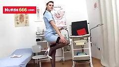 Naughty nurse got hairy pussy feat. Promesita