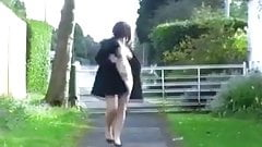 Chubby teen naked in London streets