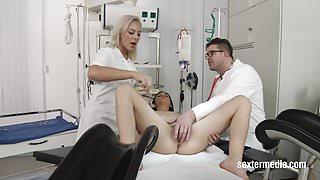 Lullu Gun beim Arzt