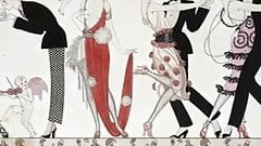 George Barbier - Erotic Fashion Art Deco Illustrator
