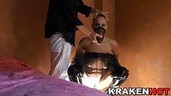 Krakenhot - Mature blonde Daniela Evans in BDSM Submission