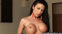 Hot Exotic Babe With Huge Tits Solo