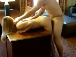 Hot wife fuck with her boss in front of hubby