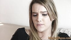 Facesitting milf pleasured by stepdaughter