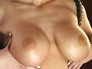 Sex with a mermaid - Sex with a busty lingerie model in thigh highs