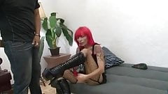 Freaky milf fucked by her younger boyfriend