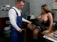 Sexy susi black stockings boots tit- fucked pissing Thumbnail