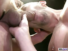 Locker room fuck with Jace Chambers and Bryan Cole