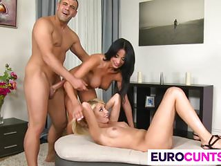 Big Dick For Anissa Kate And Kimber Selice