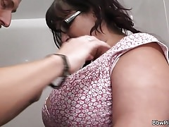 Hot fatty picked up and fucked in the restroom Thumbnail