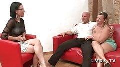 Casting anal BBW couple amateur dans La Maison du Sexe