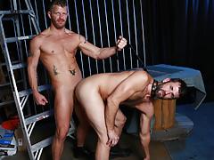 CJ takes Jeremy's huge cock