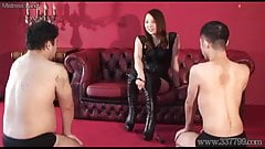 Japanese Femdom Risa Slave Evaluation