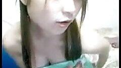 Sexy korean girl on webcam