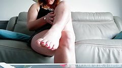 Foot Fetish - Feet care - Mimilacoquine on Vends-ta-culotte