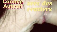 Gangbang de cette chienne de Corinne Auteuil par 5 routiers