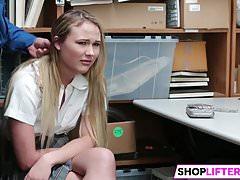 Shoplifting Teen Is Helpless