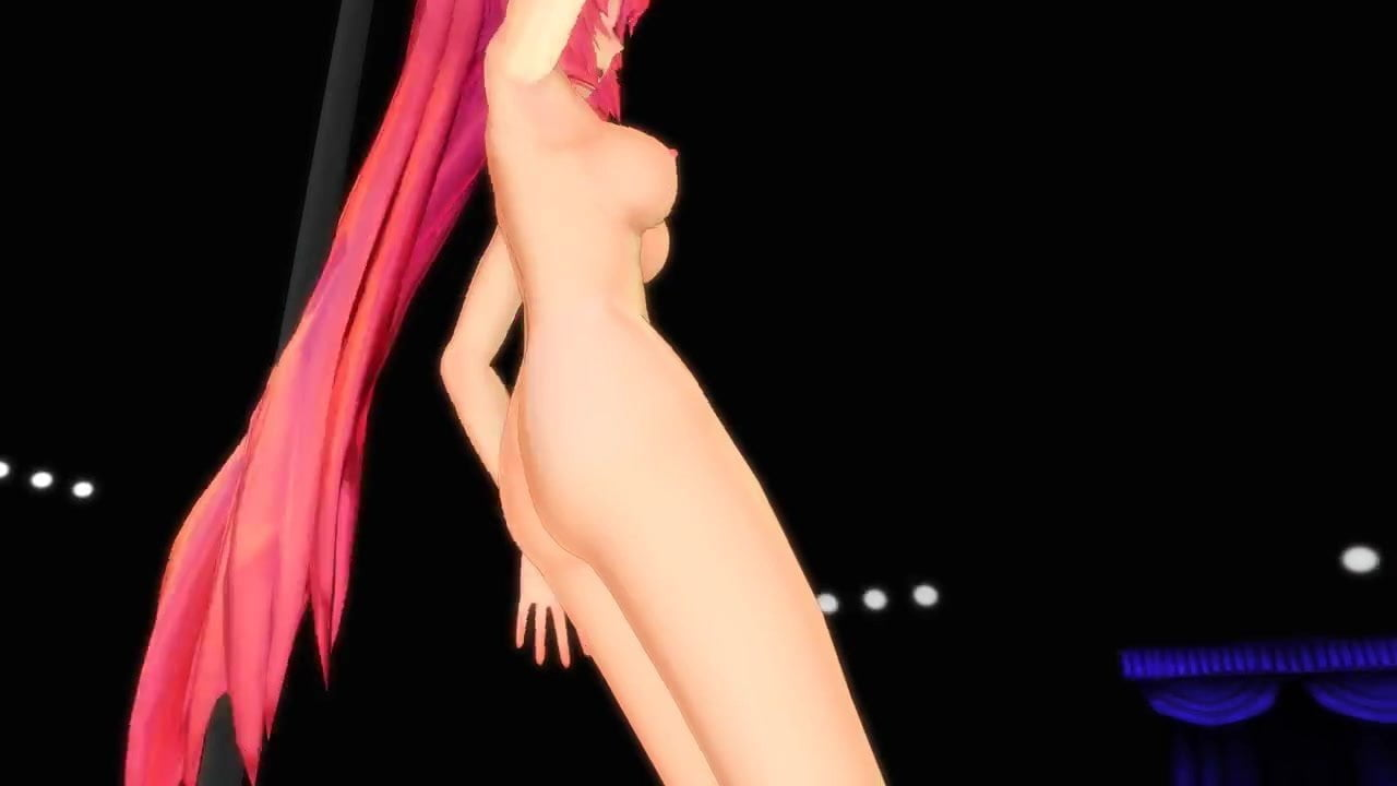Mmd Rin Strip Pole Dance