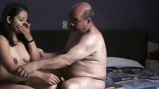 Guy sucking his penis