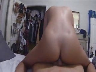 Hot Little Asian Sucking And Riding