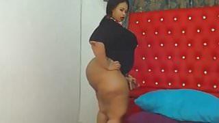 Chubby ebony with Huge hot asss