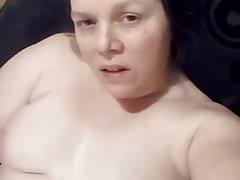 Naked. White girl