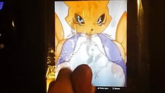 Renamon Get Some Cum Request By aoistorm