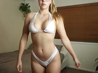 Incredibly Hot Edin Trying Bikinis (non nude)