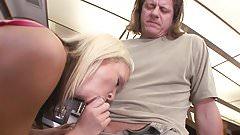Vaginal sex, small tits, nice hair