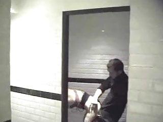 Couple Caught In Restaurant Bathroom