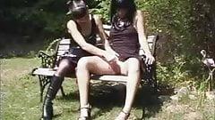 A Lesbian Outdoor Encounter's Thumb