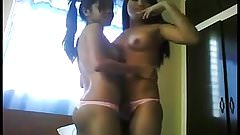 lesbian  ten love making
