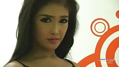 Asian Ladyboy Babe Tanya gets naked