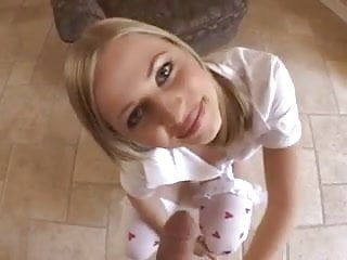 Blond Teen Fucked In All Holes