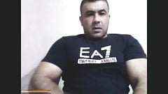 Turkish bear cums om cam
