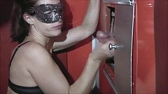 Wife first time at gloryhole