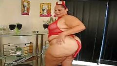 bbw big ass latina red evil