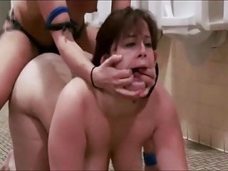 BBW Getting Fucked Rough In Bathroom!