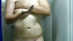 Mom in the shower