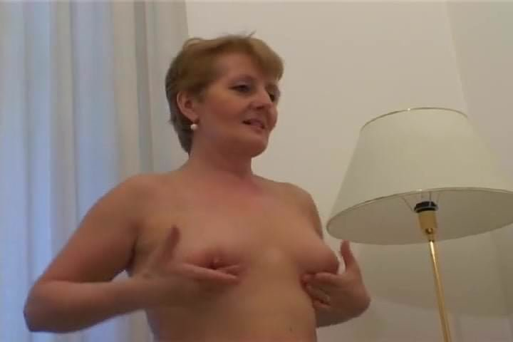 Are perky topless granny